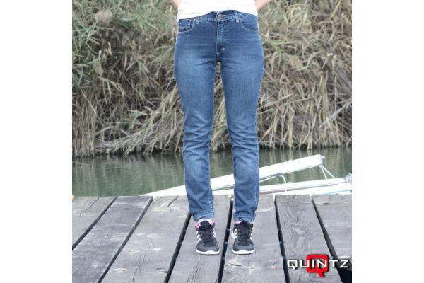 női slim fit farmer