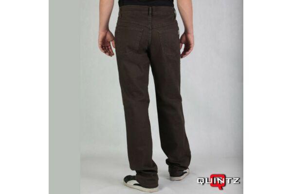 férfi egyenes szárú szövet nadrág hátulról