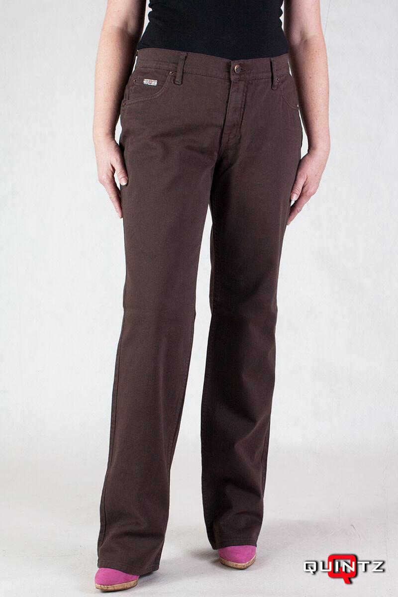 barna női nadrág