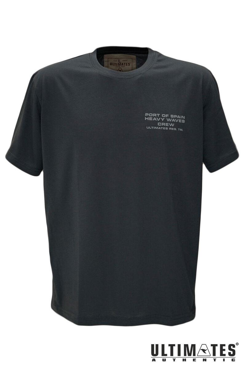 Férfi nagyméretű szürke póló
