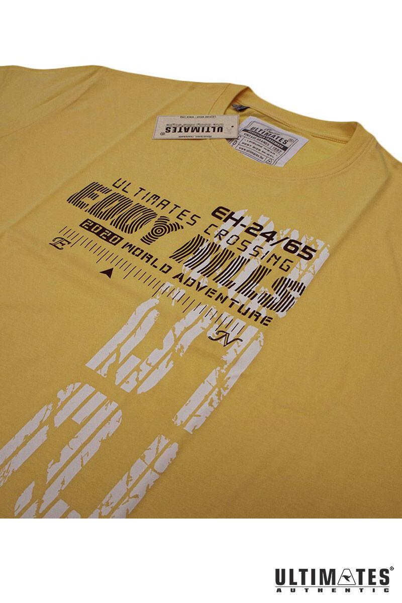 sárga extra nagy férfi póló