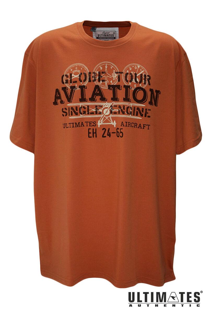 Férfi narancssárga póló