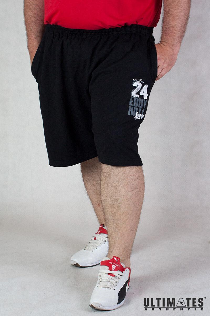 férfi nagyméretű fekete short