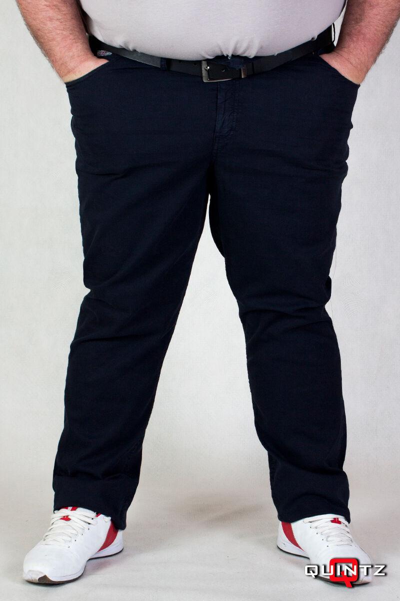 férfi nagyméretű sötét kék nadrág