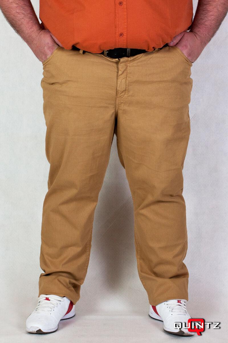 férfi nagyméretű camel sárga nadrág