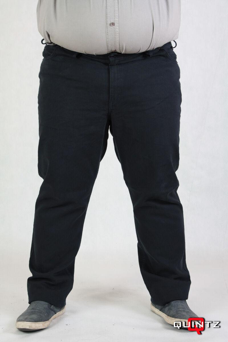 Férfi nagy méretű kord nadrág