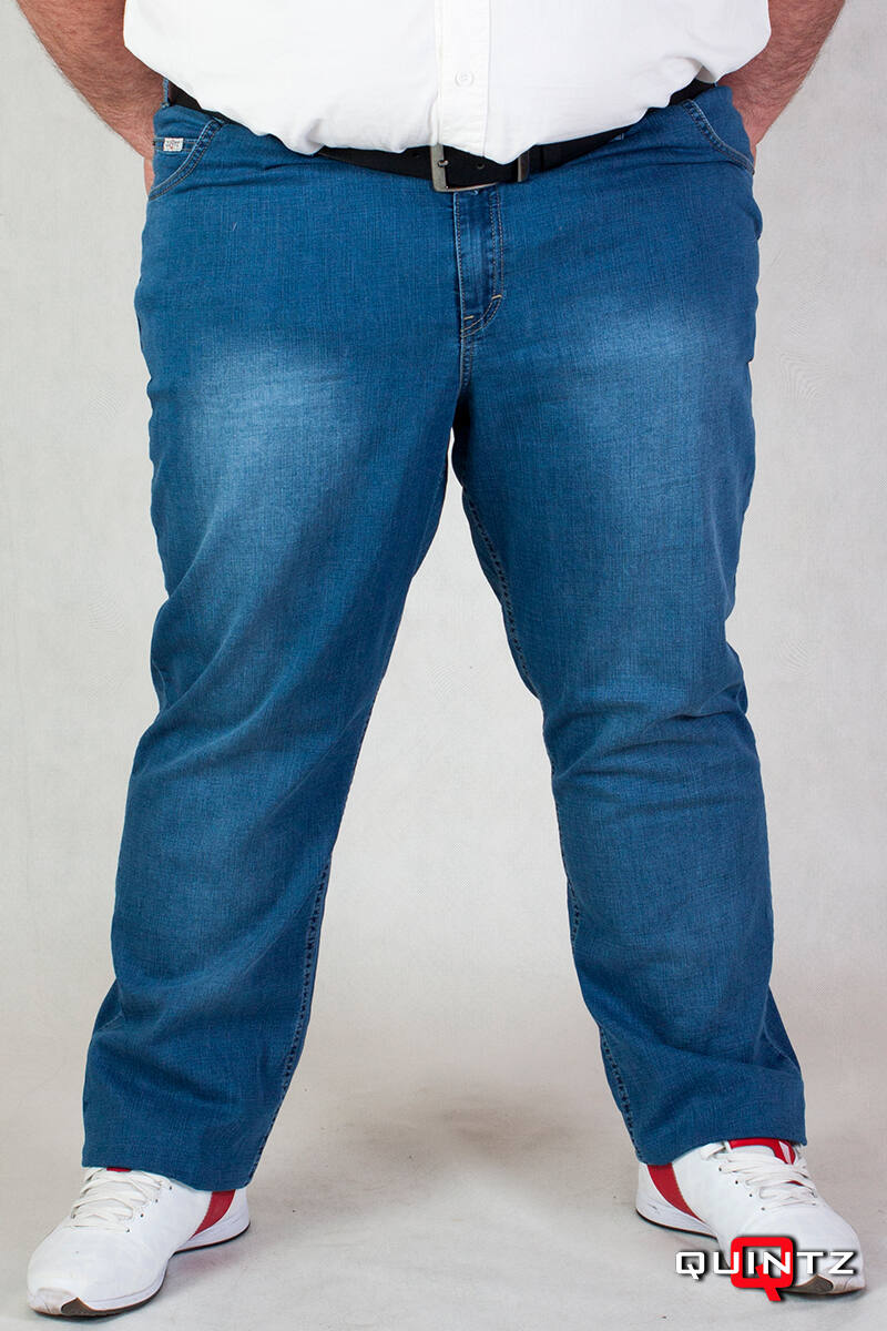 világos kék farmernadrág nagy méretben