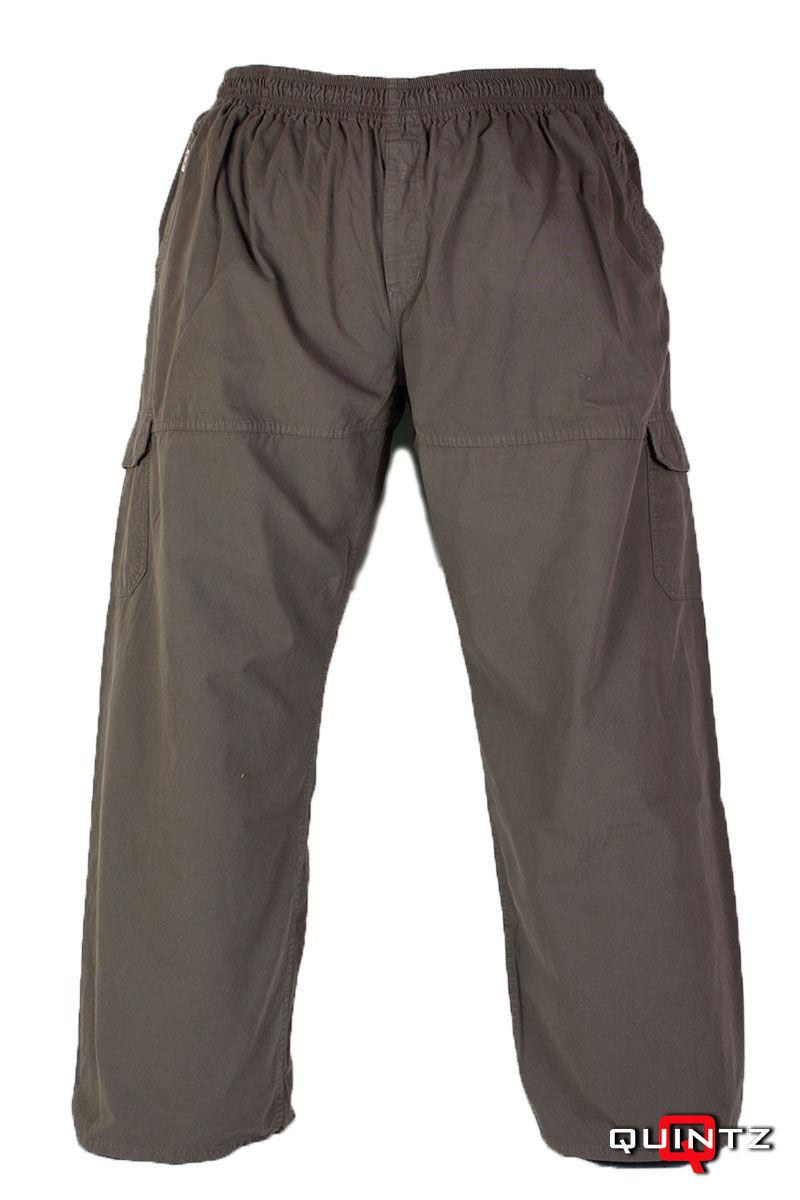 férfi nagyméretű vászon nadrág