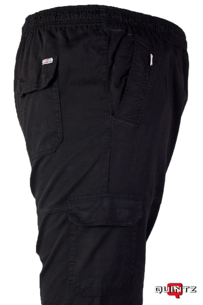 gumis derekú fekete nadrág