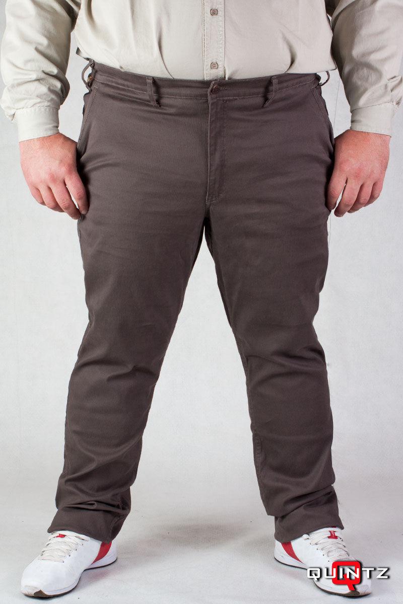 barna elegáns nagyméretű férfi nadrág