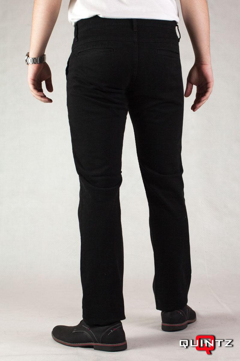 férfi nagy méretű fekete nadrág hátulról