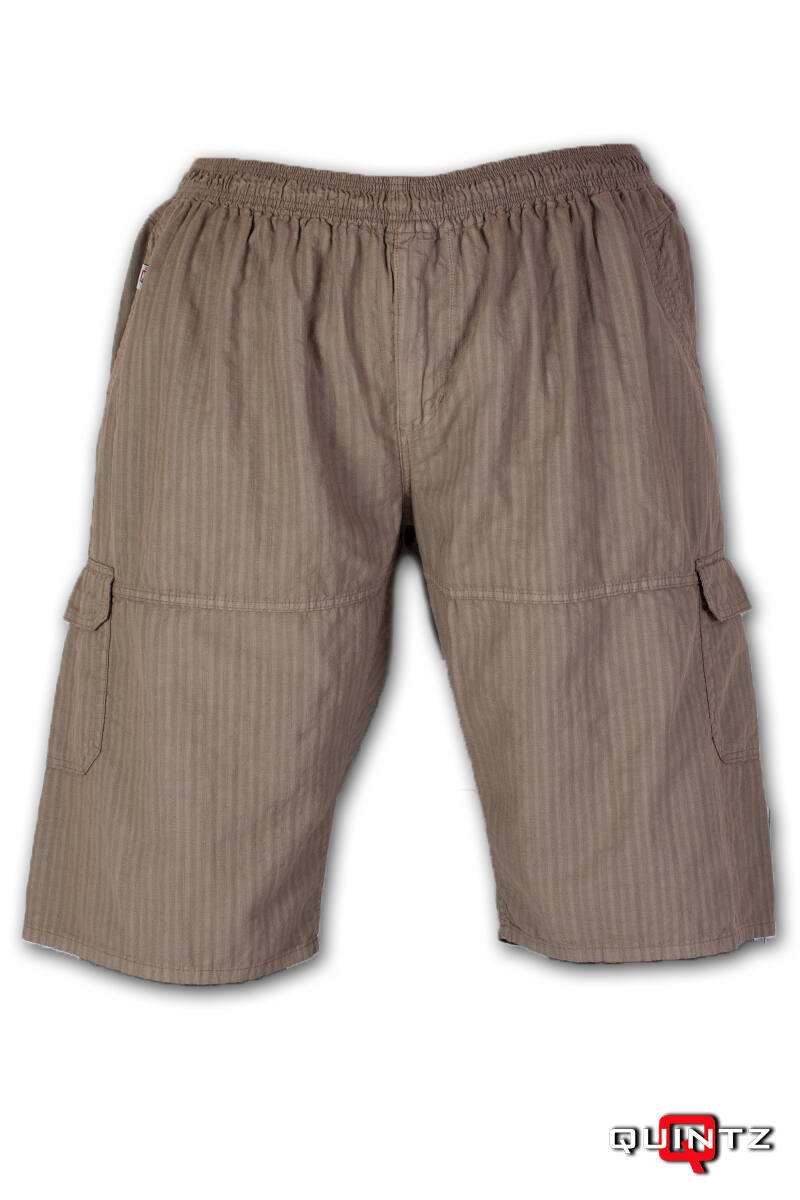 férfi nagyméretű drapp rövidnadrág