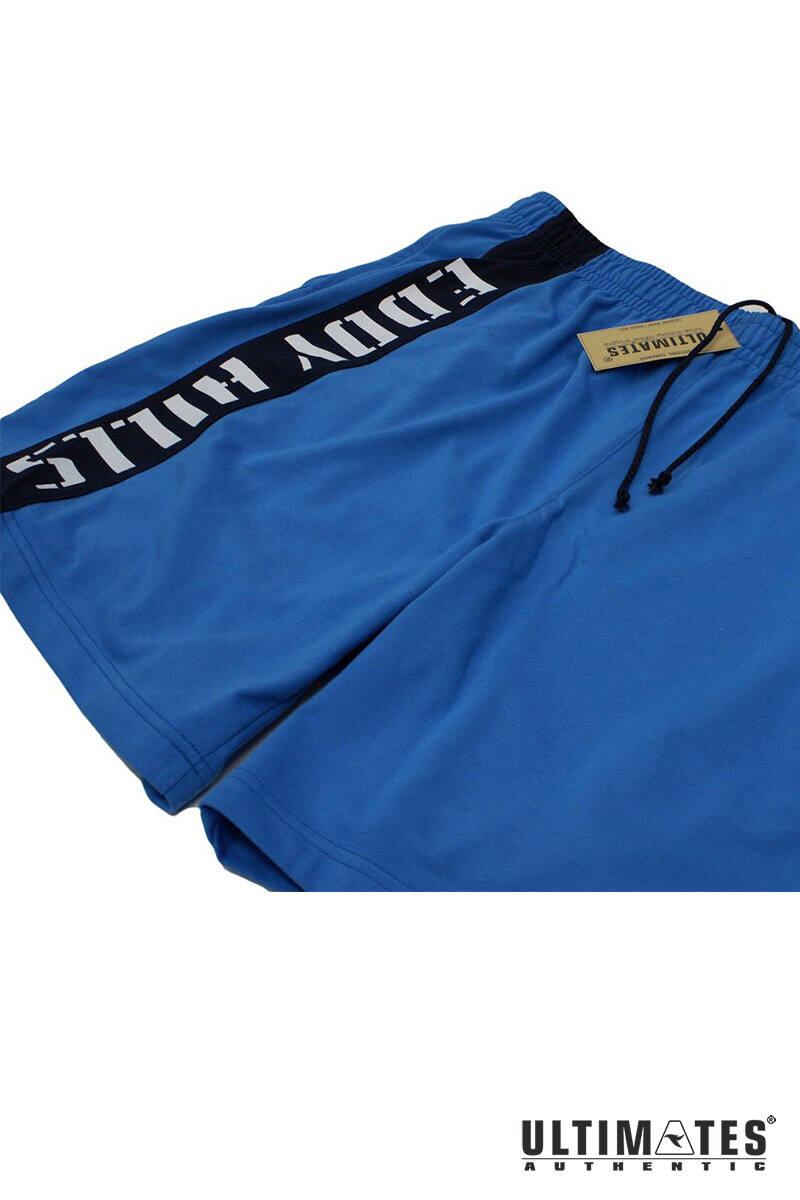 kék nagyméretű férfi short