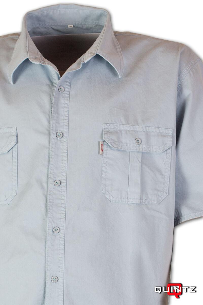 férfi rövid ujjú nagyméretű ing