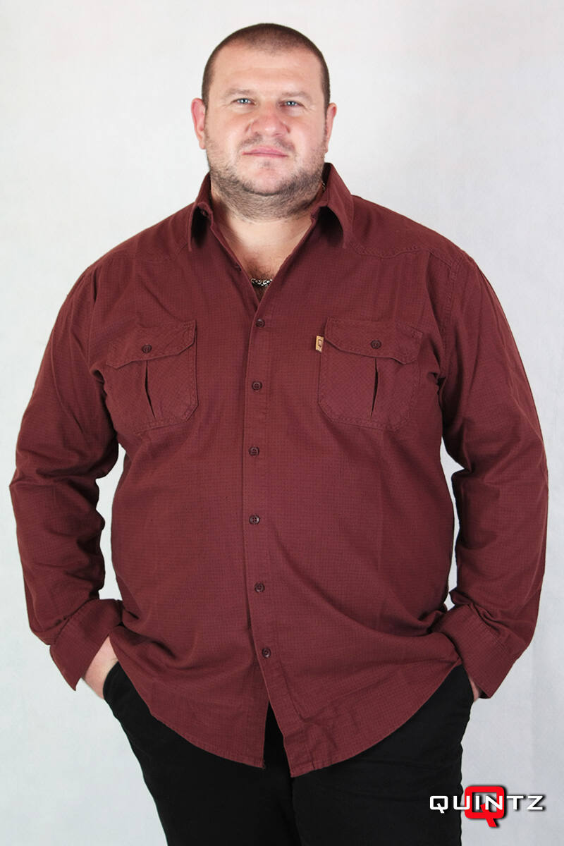 férfi nagy méretű flanel ing