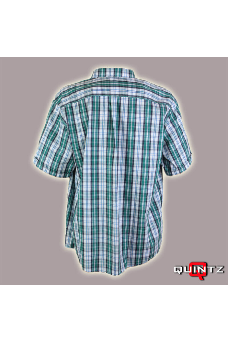 férfi rövid ujjas kockás ing