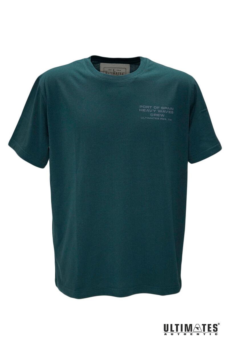 Férfi nagyméretű zöld póló