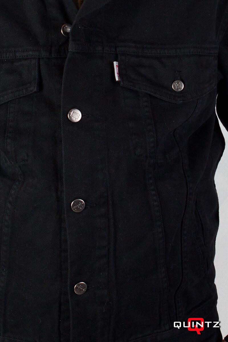extra méretű fekete dzseki