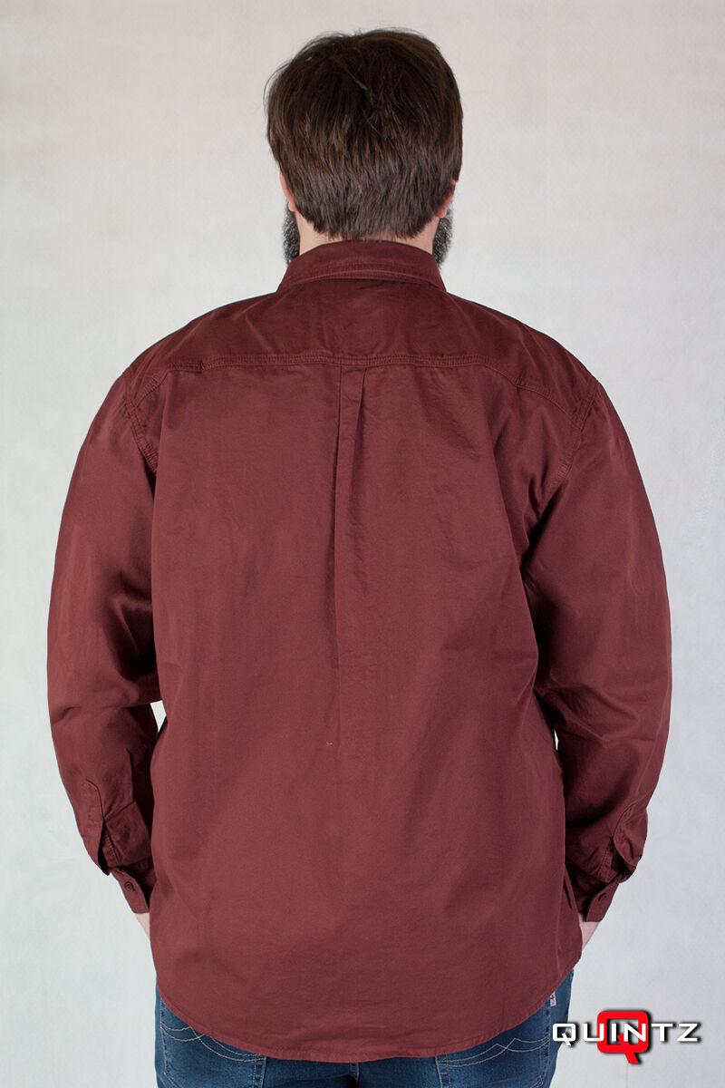 bordó nagyméretű ing