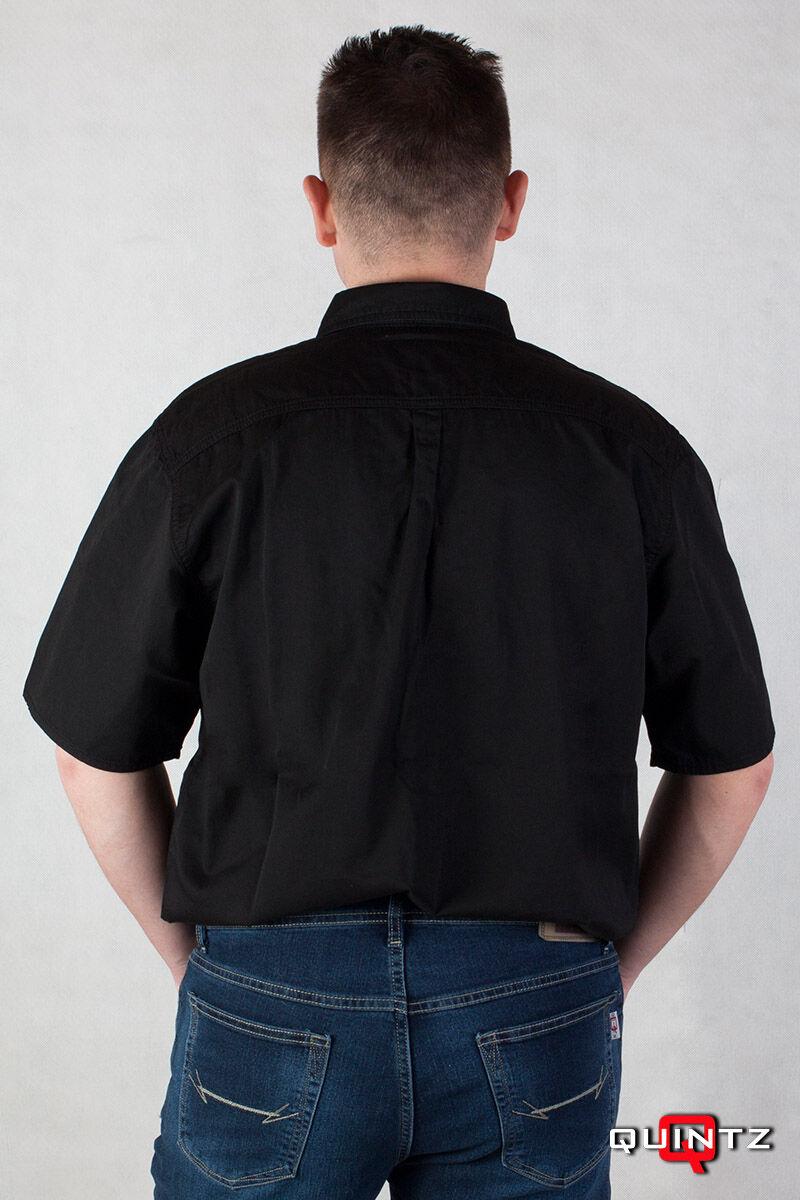 férfi rövid ujjú ing hátulról