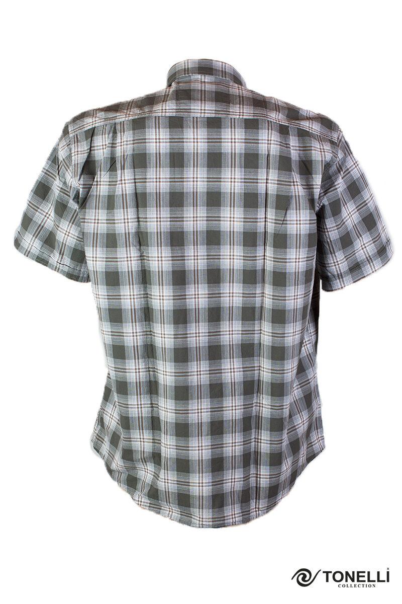 zöld kockás ing