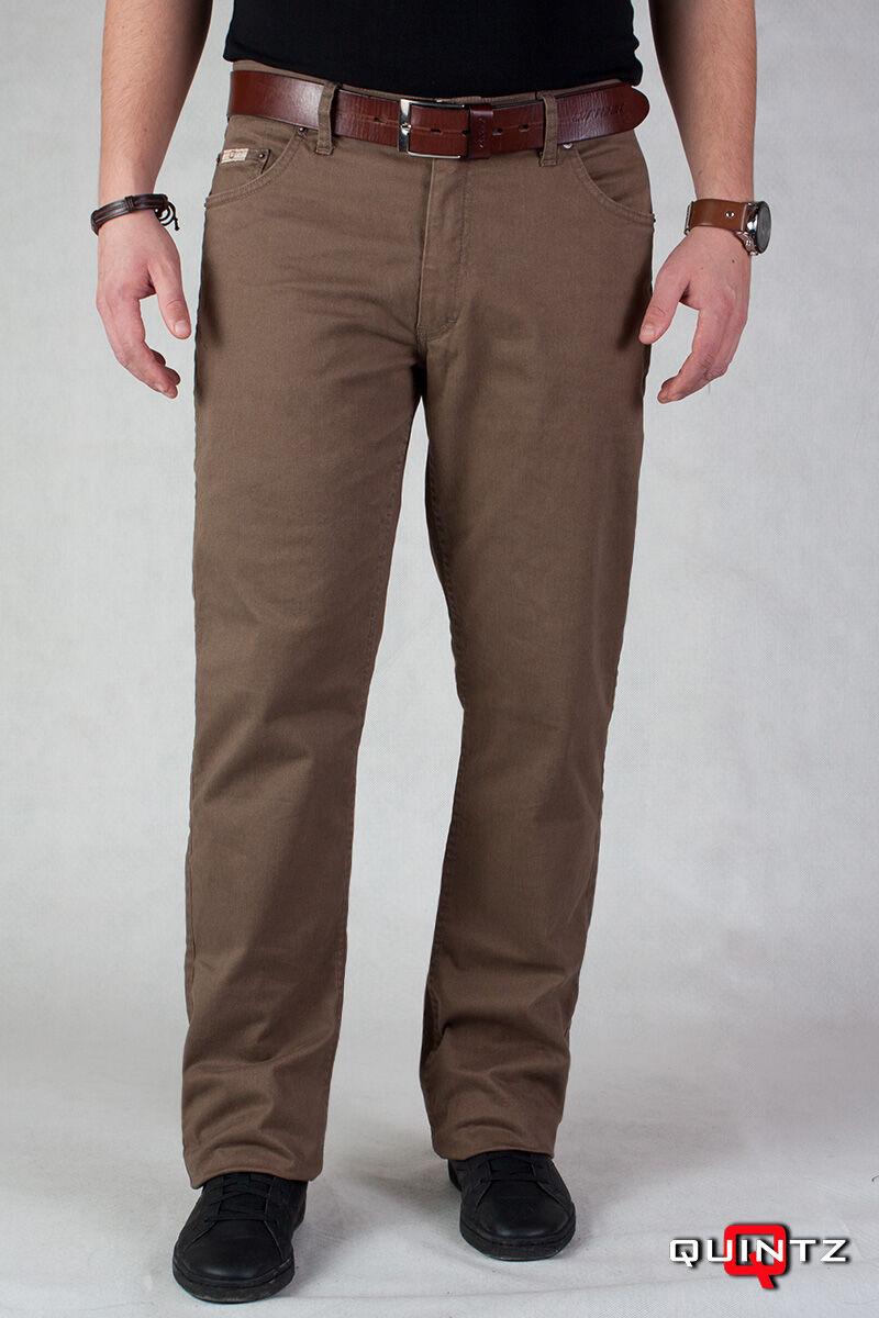 férfi elegáns barna nadrág