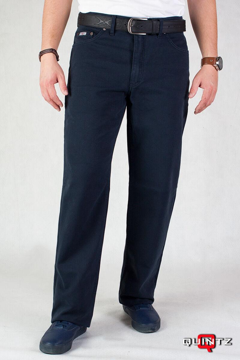 férfi kék kord nadrág