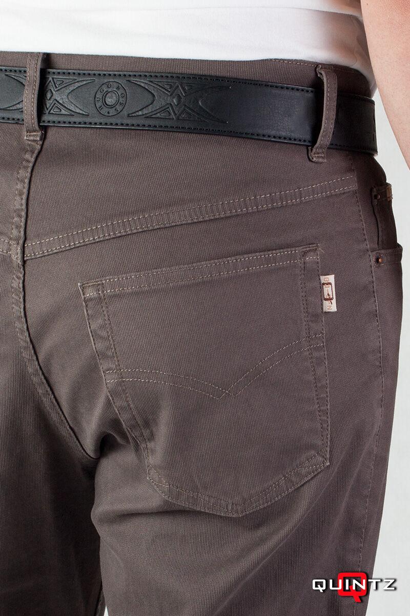 barna szövet nadrág