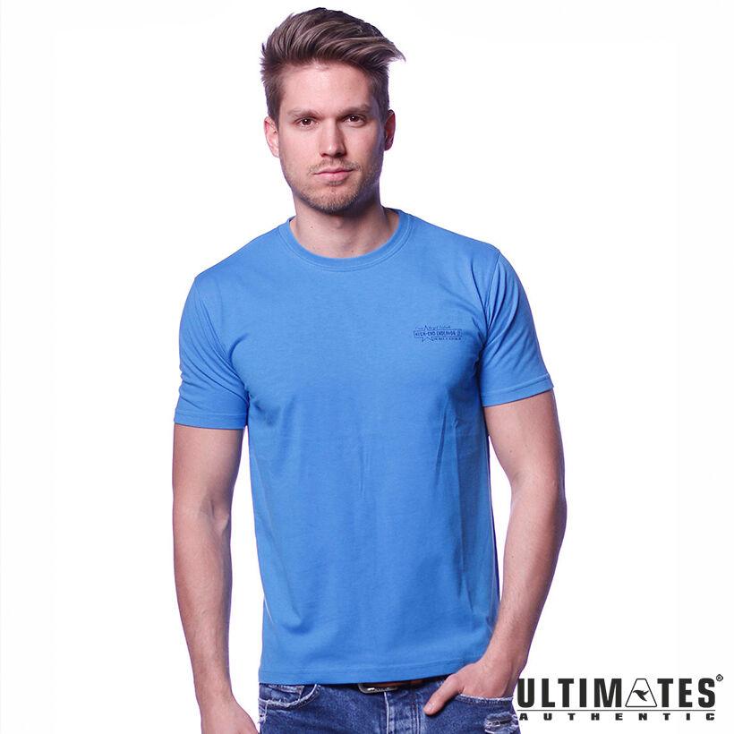 Férfi nagyméretű kék póló