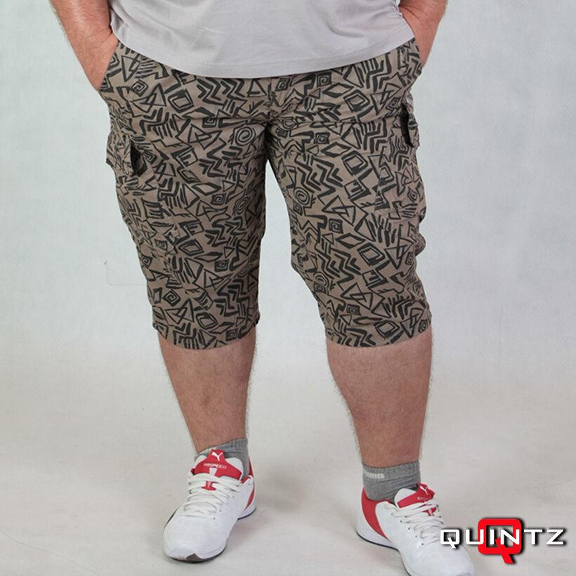 férfi nagy méretű mintás rövidnadrág