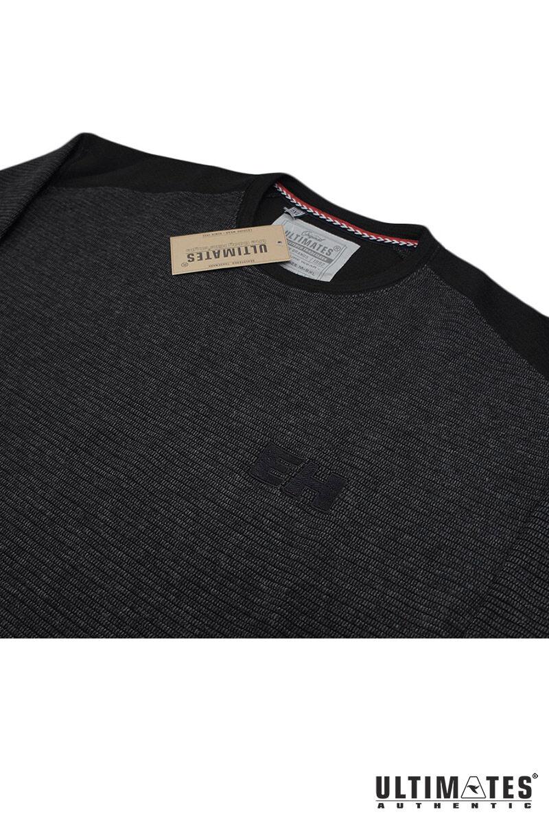 extra nagy környakas fekete férfi pulcsi