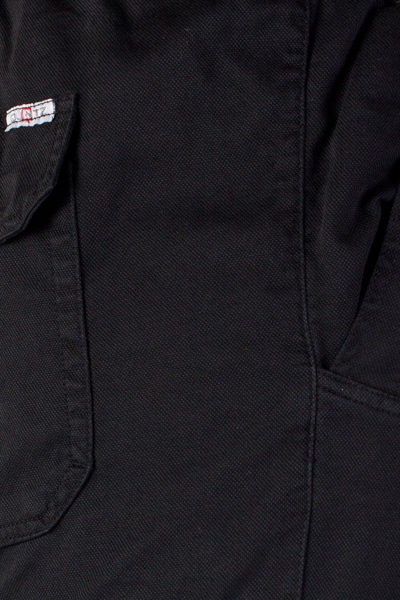 fekete nagymeretű nadrág