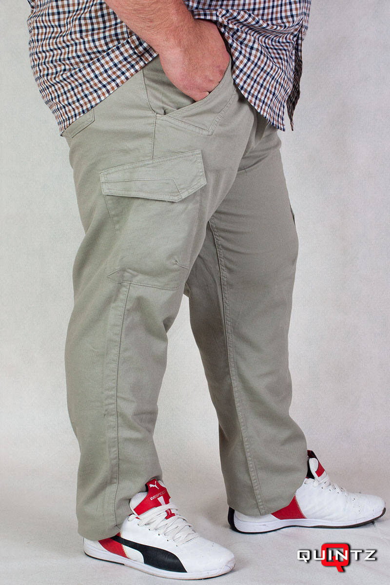 húzott derekú oldalzsebes nadrág