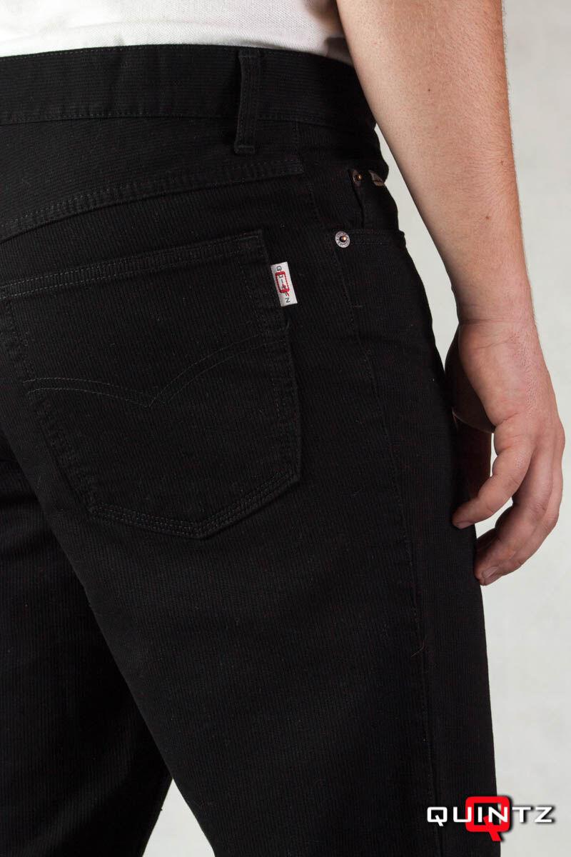 fekete kord nadrág