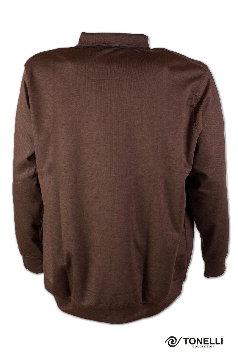 férfi galléros férfi pulóver